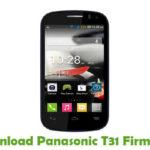 Panasonic T31 Firmware