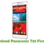 Panasonic T33 Firmware
