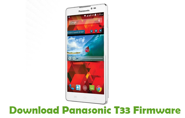 Download Panasonic T33 Firmware