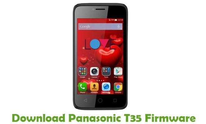 Download Panasonic T35 Stock ROM