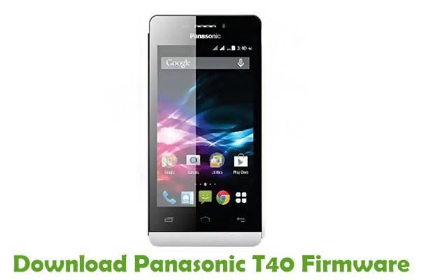 Download Panasonic T40 Firmware