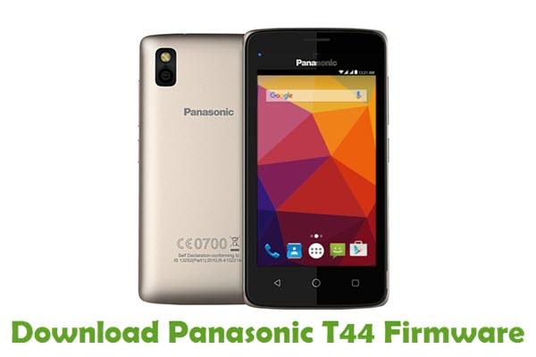 Download Panasonic T44 Firmware