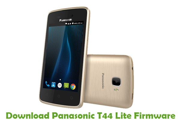 Download Panasonic T44 Lite Firmware