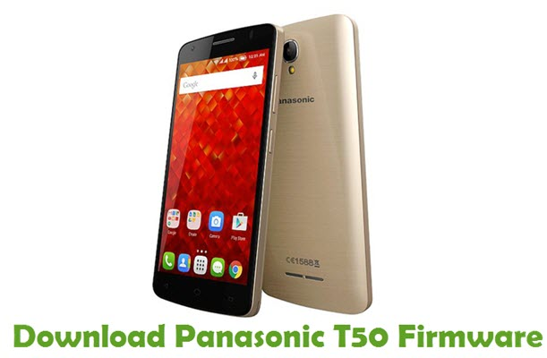 Download Panasonic T50 Firmware