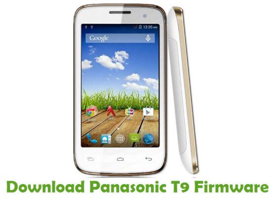 Download Panasonic T9 Stock ROM