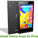 Salora Arya Z2 Firmware