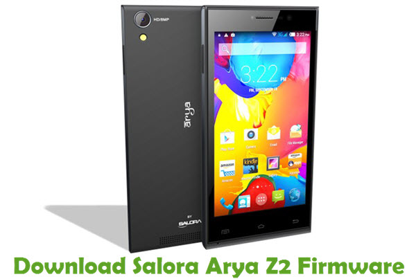 Download Salora Arya Z2 Firmware