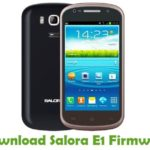 Salora E1 Firmware