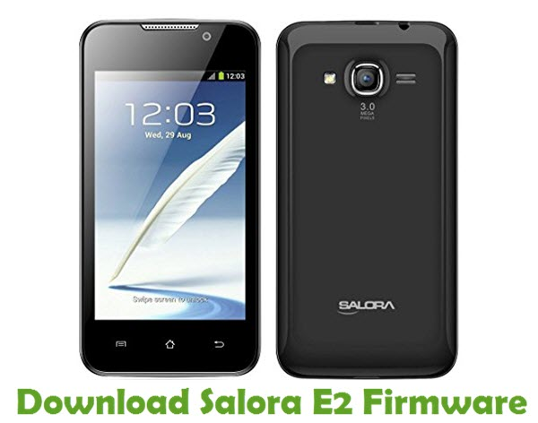 Download Salora E2 Firmware