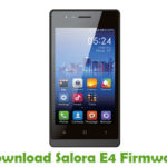 Salora E4 Firmware