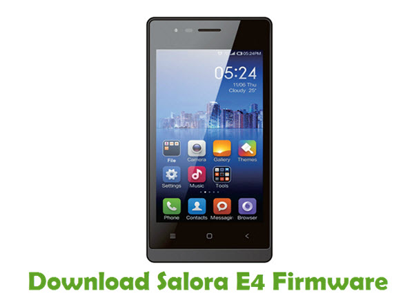 Download Salora E4 Firmware
