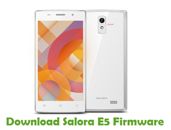 Download Salora E5 Firmware
