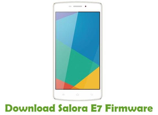 Download Salora E7 Firmware