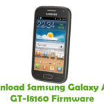 Samsung Galaxy Ace 2 GT-I8160 Firmware