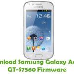 Samsung Galaxy Ace 2X GT-S7560 Firmware
