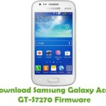 Samsung Galaxy Ace 3 GT-S7270 Firmware