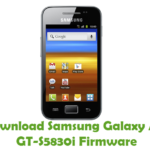 Samsung Galaxy Ace GT-S5830i Firmware