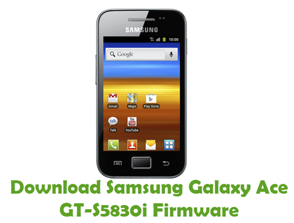 Download Samsung Galaxy Ace GT-S5830i Firmware