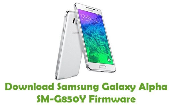 Download Samsung Galaxy Alpha SM-G850Y Stock ROM