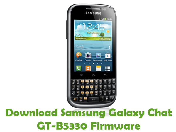 Download Samsung Galaxy Chat GT-B5330 Firmware