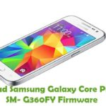 Samsung Galaxy Core Prime 4G SM-G360FY Firmware