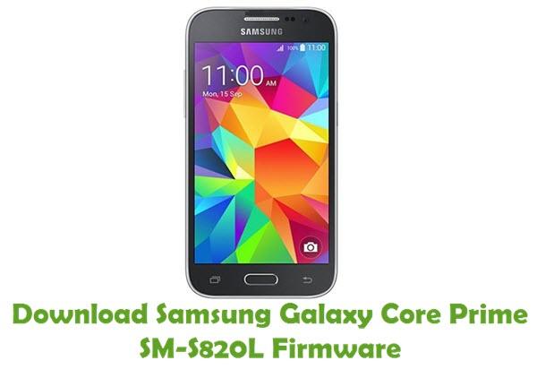 Download Samsung Galaxy Core Prime SM-S820L Stock ROM