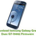 Samsung Galaxy Grand Duos GT-I9082 Firmware