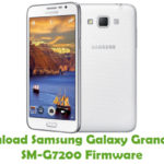 Samsung Galaxy Grand Max SM-G7200 Firmware
