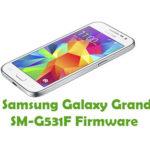Samsung Galaxy Grand Prime 4G SM-G531F Firmware