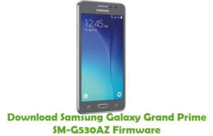 Download Samsung Galaxy Grand Prime SM-G530AZ Firmware - Stock ROM Files