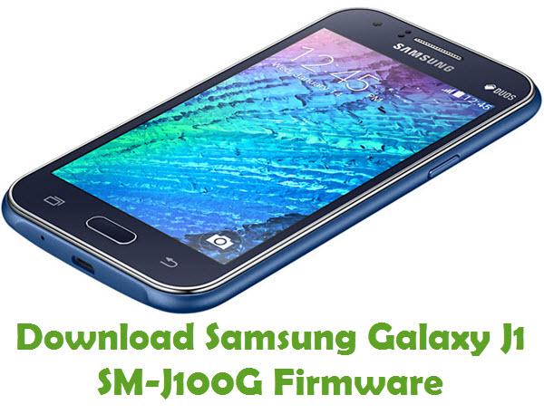 Download Samsung Galaxy J1 SM-J100G Stock ROM