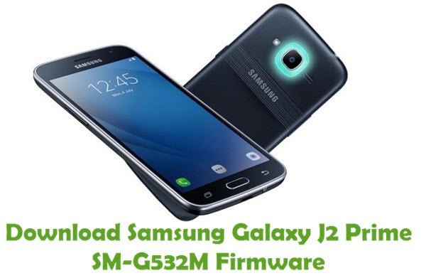 Download Samsung Galaxy J2 Prime SM-G532M Stock ROM