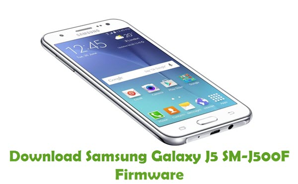 Download Samsung Galaxy J5 SM-J500F Firmware