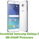 Samsung Galaxy J7 SM-J700F Firmware