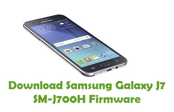 Download Samsung Galaxy J7 SM-J700H Firmware