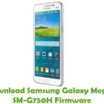 Samsung Galaxy Mega 2 SM-G750H Firmware
