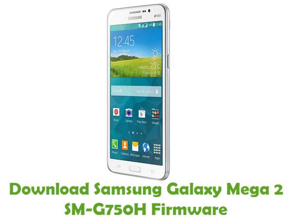 Download Samsung Galaxy Mega 2 SM-G750H Stock ROM