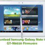 Samsung Galaxy Note 10.1 GT-N8020 Firmware
