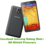 Samsung Galaxy Note 3 SM-N9009 Firmware