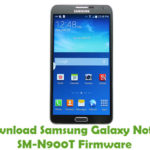 Samsung Galaxy Note 3 SM-N900T Firmware