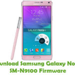 Samsung Galaxy Note 4 SM-N9100 Firmware