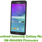 Samsung Galaxy Note 4 SM-N910W8 Firmware