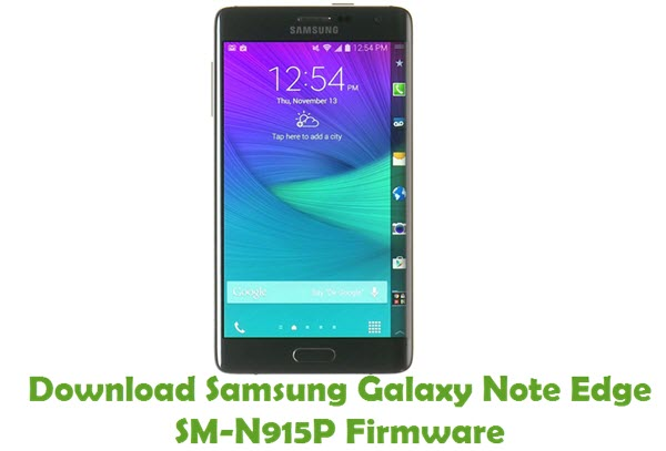 Download Samsung Galaxy Note Edge SM-N915P Stock ROM