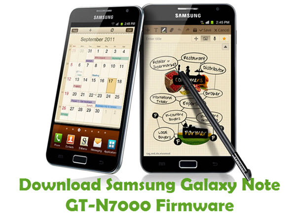 Download Samsung Galaxy Note GT-N7000 Stock ROM