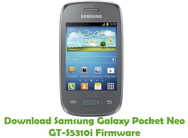 Download Samsung Galaxy Pocket Neo GT-S5310i Firmware