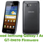 Samsung Galaxy S Advance GT-I9070 Firmware