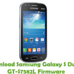 Samsung Galaxy S Duos 2 GT-S7582L Firmware