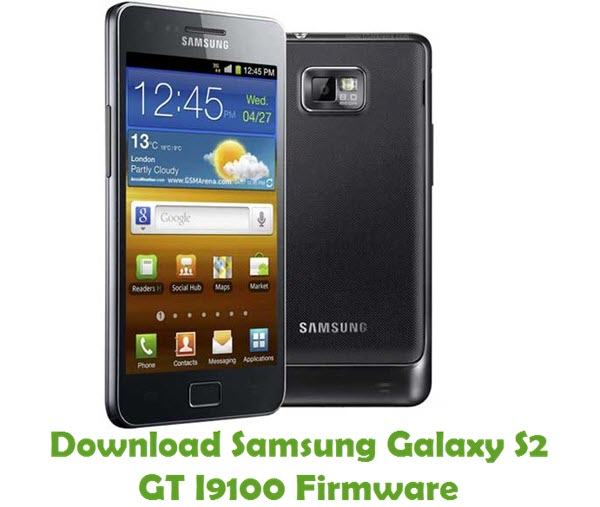 Download Samsung Galaxy S2 GT I9100 Stock ROM