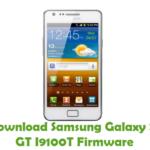 Samsung Galaxy S2 GT I9100T Firmware