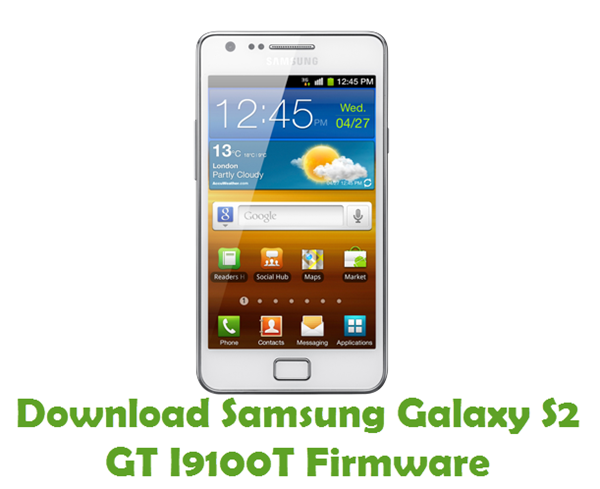 Download Samsung Galaxy S2 GT I9100T Stock ROM
